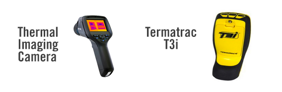 Thermal Imaging Camera and Termatrac T3i used at every Building and Pest Inspection